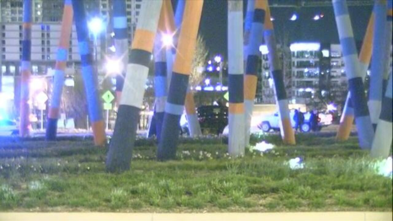 Police: Car Traveling 100 MPH Crashes Into 'Stix' Sculpture