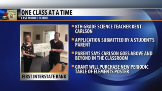 One Class At A Time: Kent Carlson