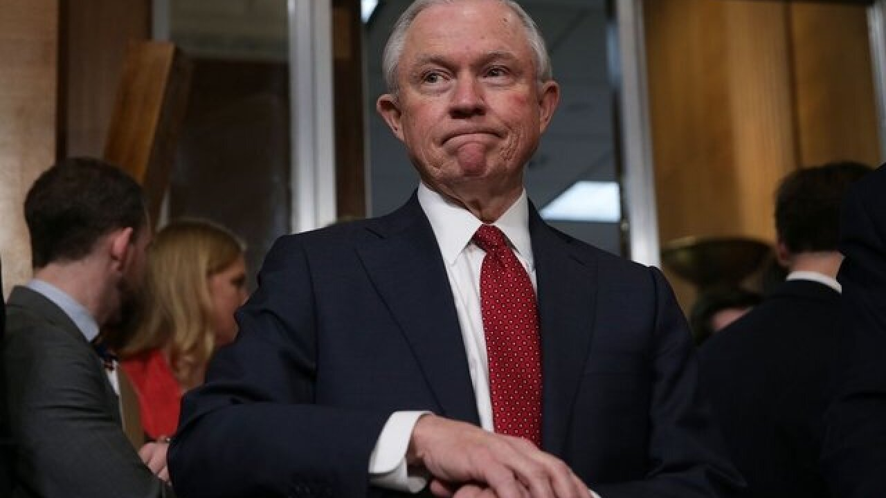 Jeff Sessions will rescind Justice Department policy on legal weed