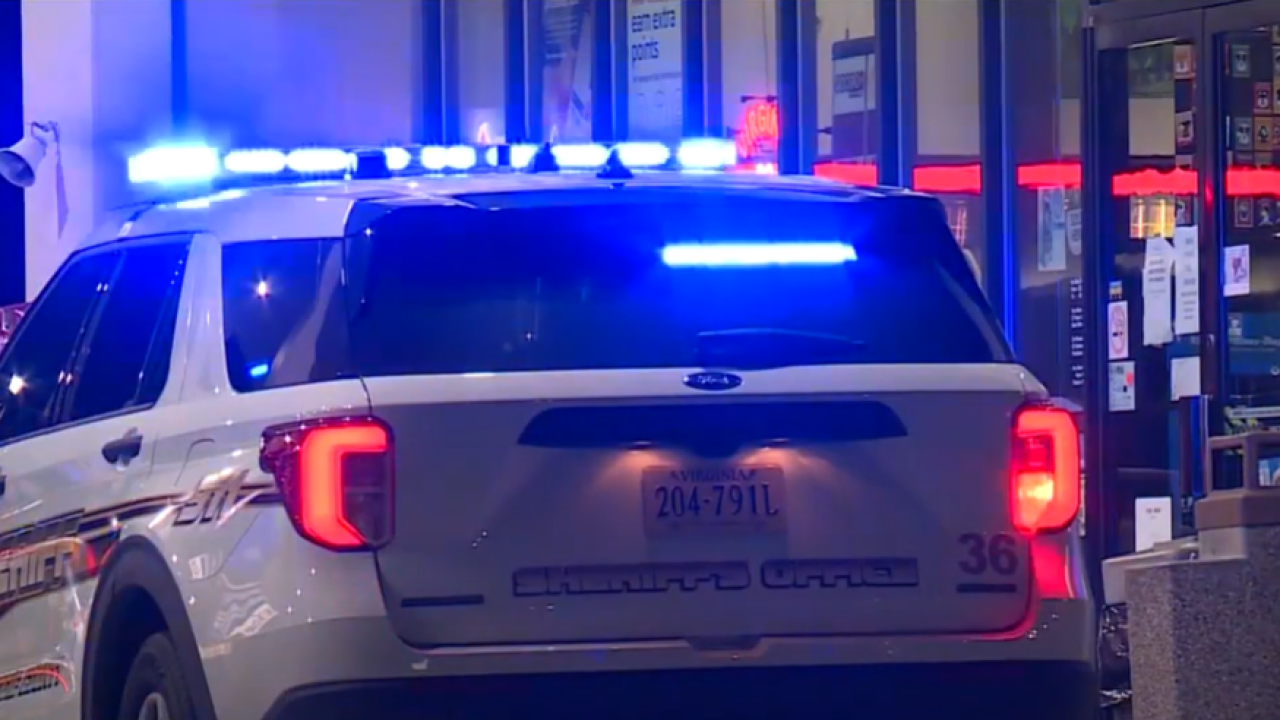 Woman shot in head while driving in Dinwiddie County
