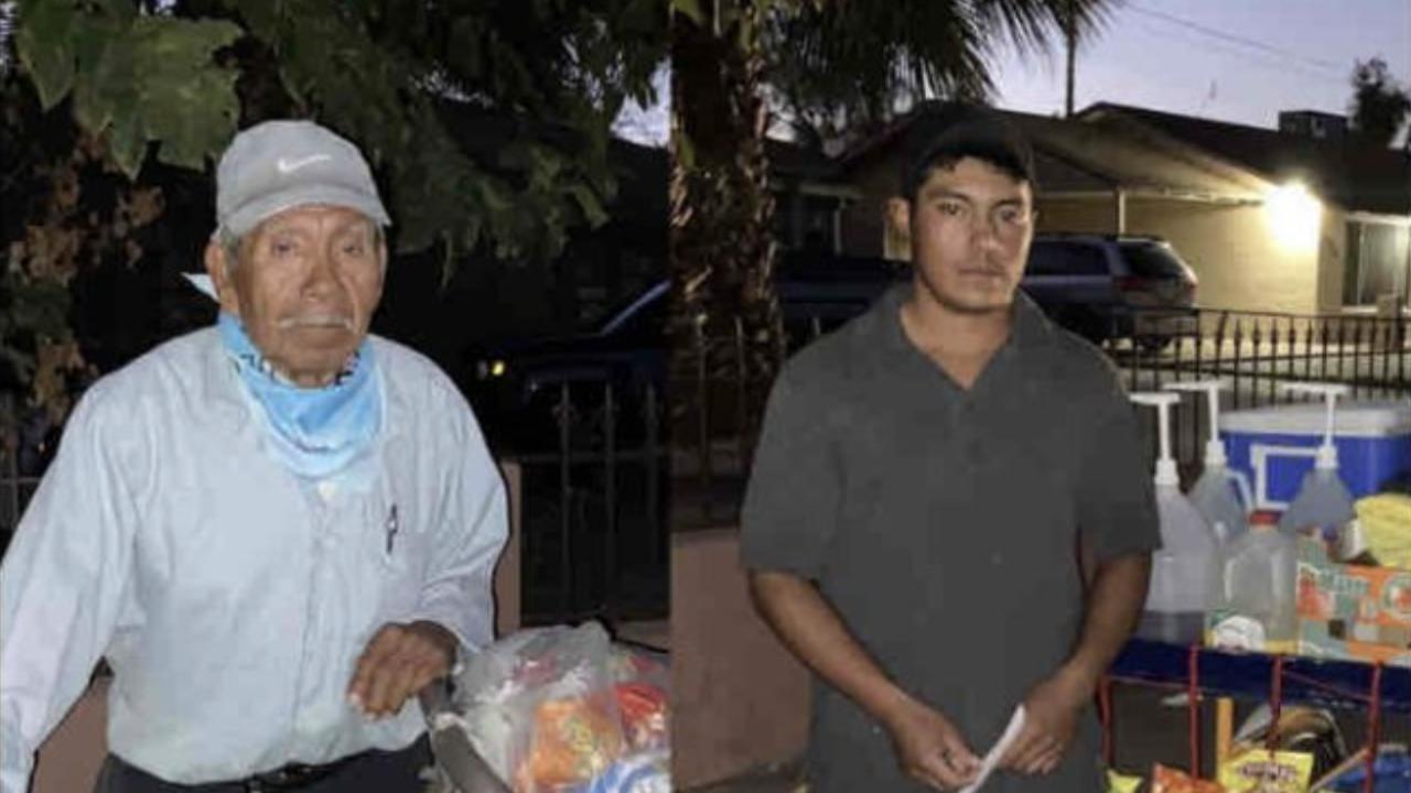 Street Vendors Apolinar & Ernesto
