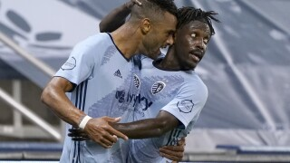 MLS FC Dallas Sporting KC Soccer Khiry Shelton