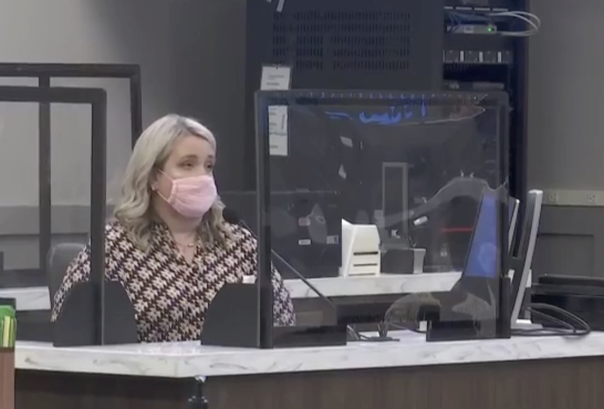 WITNESS 20: Laura Parish. She worked with the State Attorney's Office in Jackson County from 2010-2019.