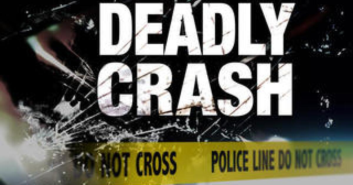 77-year-old dies after crashing into light pole Tuesday in Rosedale