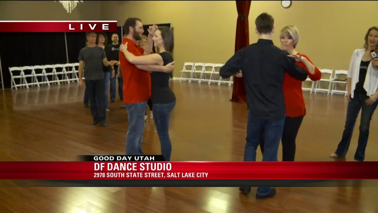 'Guess my moves' dance for Valentine's date night