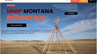 Blackfeet Community College release new portal to report missing persons