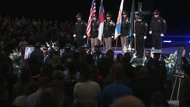 PHOTOS: Funeral service, procession for Deputy Micah Flick