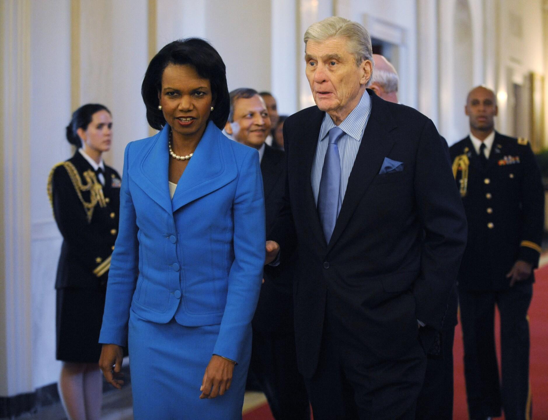 Condoleezza Rice, John Warner