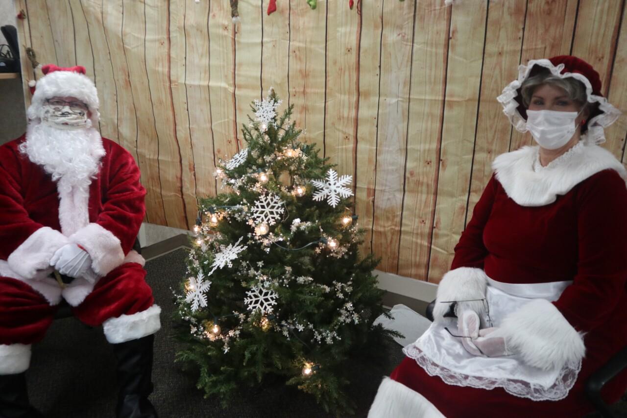 Santa and Mrs. Claus making virtual stops at Bronson Children's Hospital