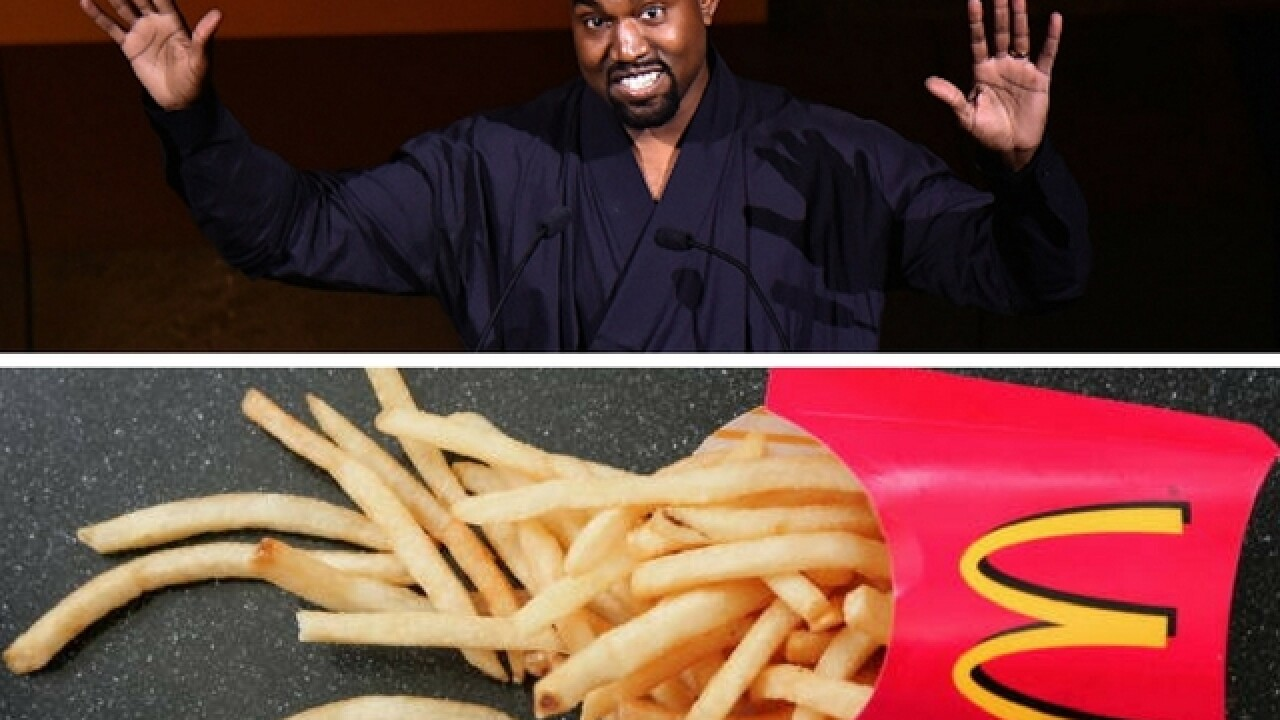 McDonald's responds to Kanye West's bizarre fast food poem