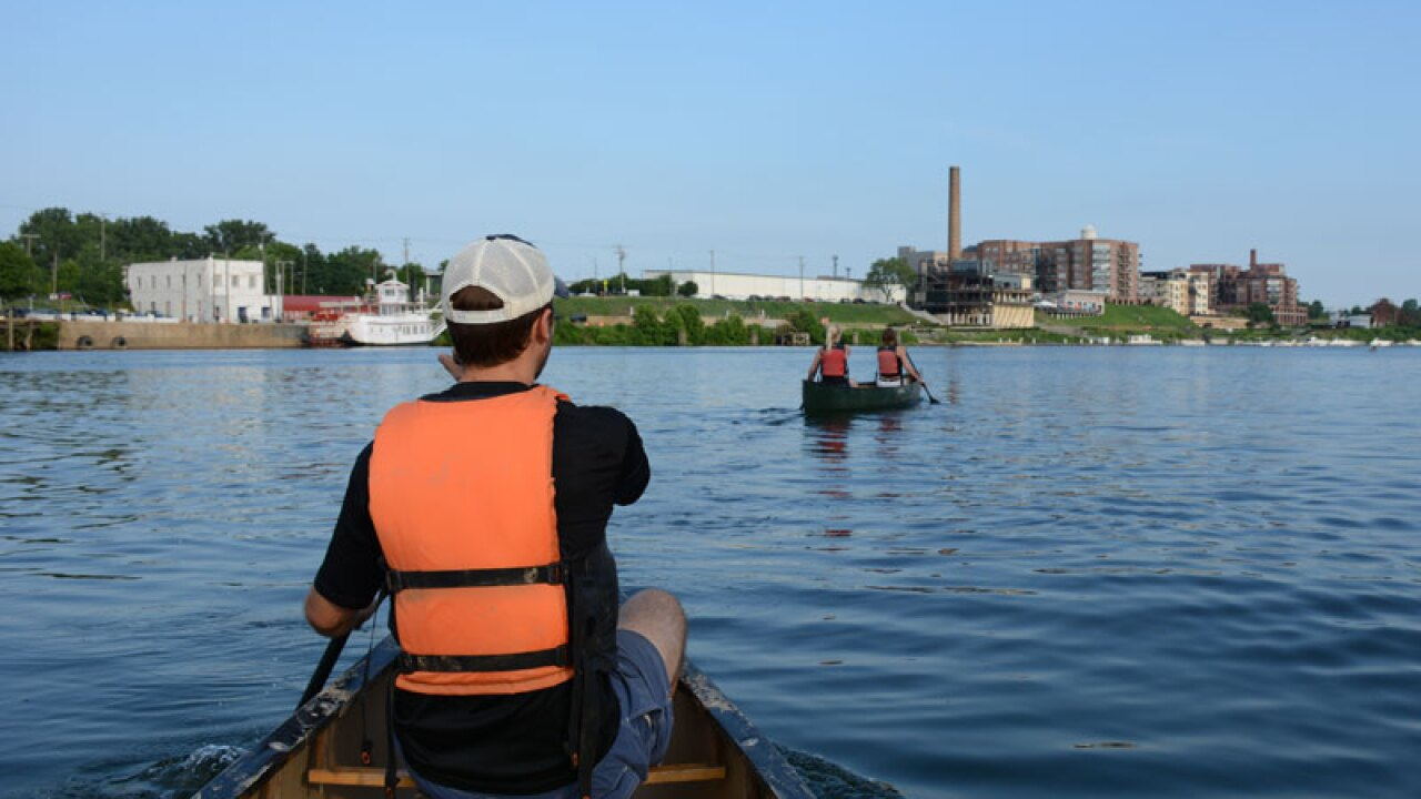 Free river rides for hospital workers