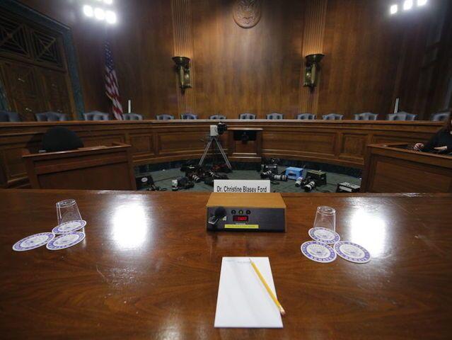 Photos: Hearing for Supreme Court nominee Brett Kavanaugh