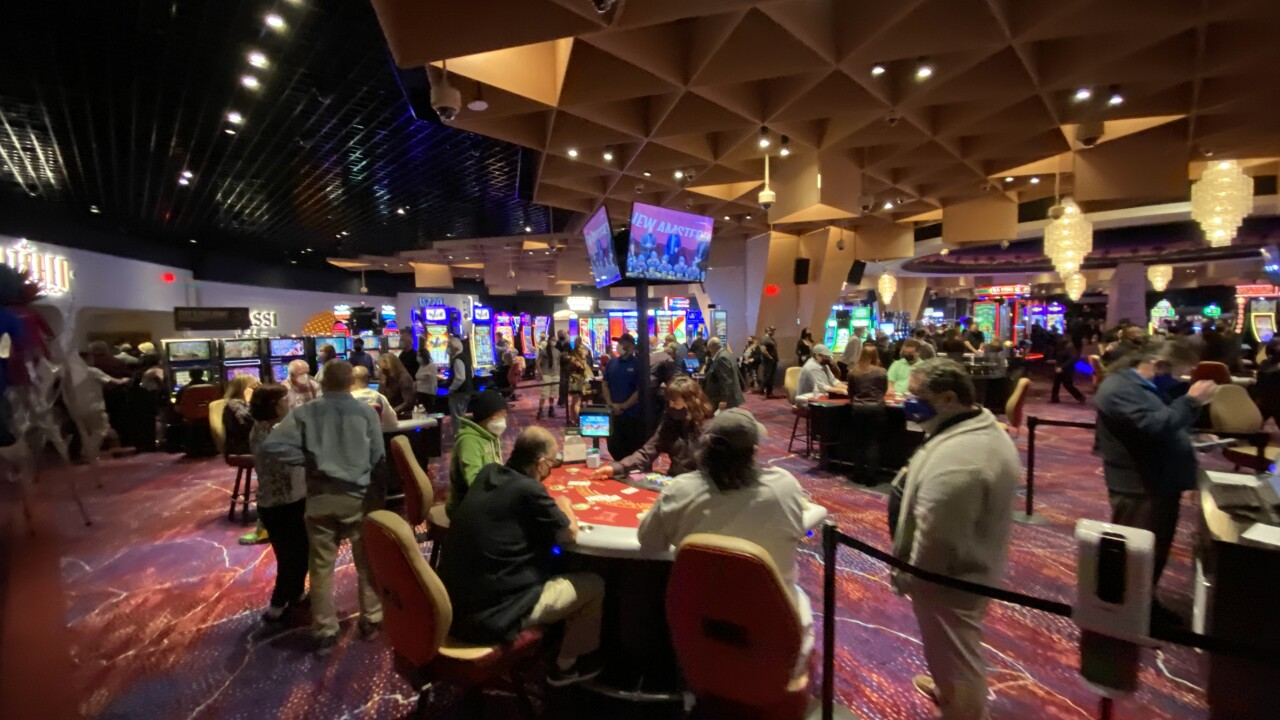 Virgin Hotels Las Vegas is a joint venture with Hilton and Mohegan Sun Casino which marks the first tribal nation to operate a casino in Las Vegas.