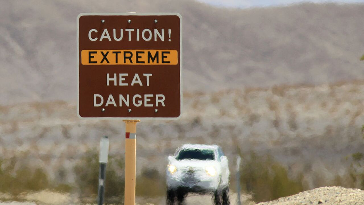 Half of the country will see temperatures of 95 degrees or higher over the next 7 days