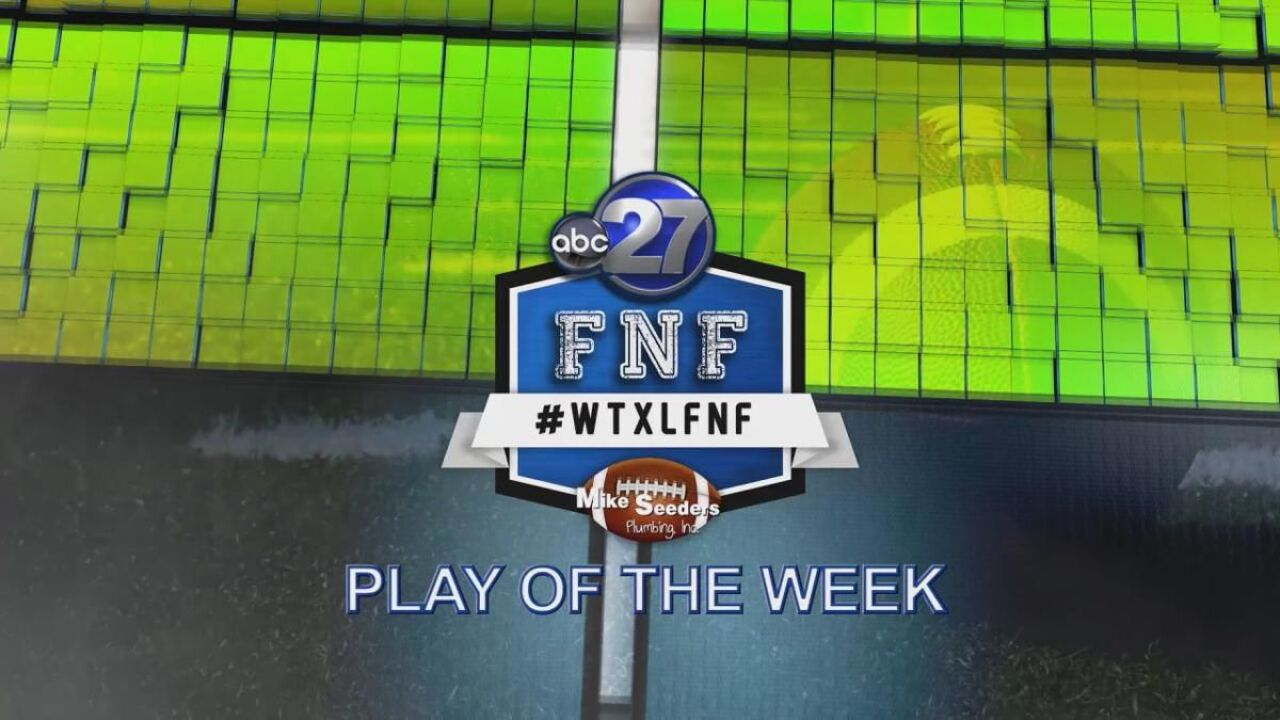 #WTXLFNF Play of the Week - October 5th, 2018