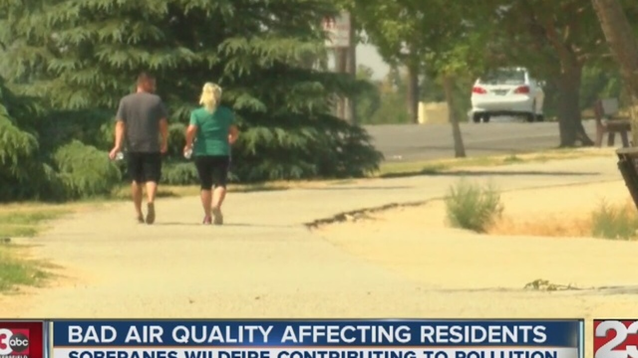 Unhealthy air this weekend