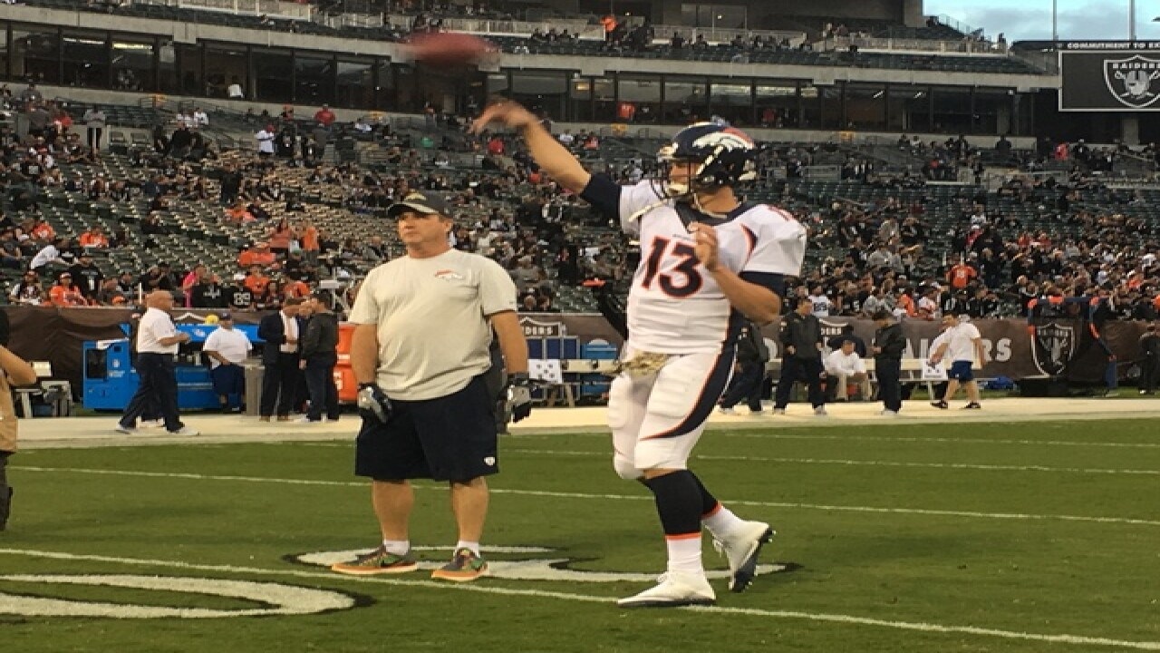 Broncos Coach Kubiak Not Considering Quarterback Change After Ugly