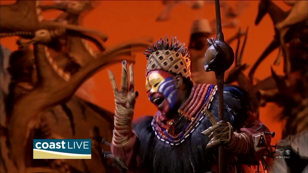 "Talking with cast members from Disney's ""The Lion King"" on Coast Live"