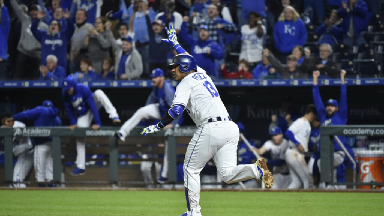 Royals continues hot streak at home, beat Indians 2-1 in 10