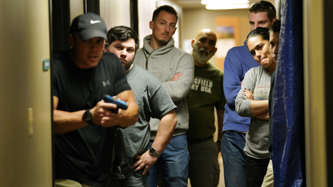 Active shooter training classes are becoming more prevalent