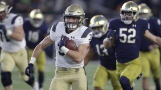 Navy Notre Dame Running Back