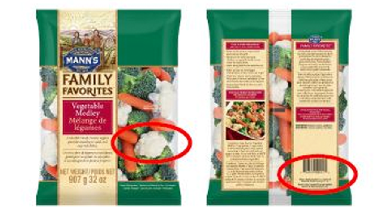 Vegetables sold at Target, Walmart, Albertsons, Trader Joe's recalled over listeria fears