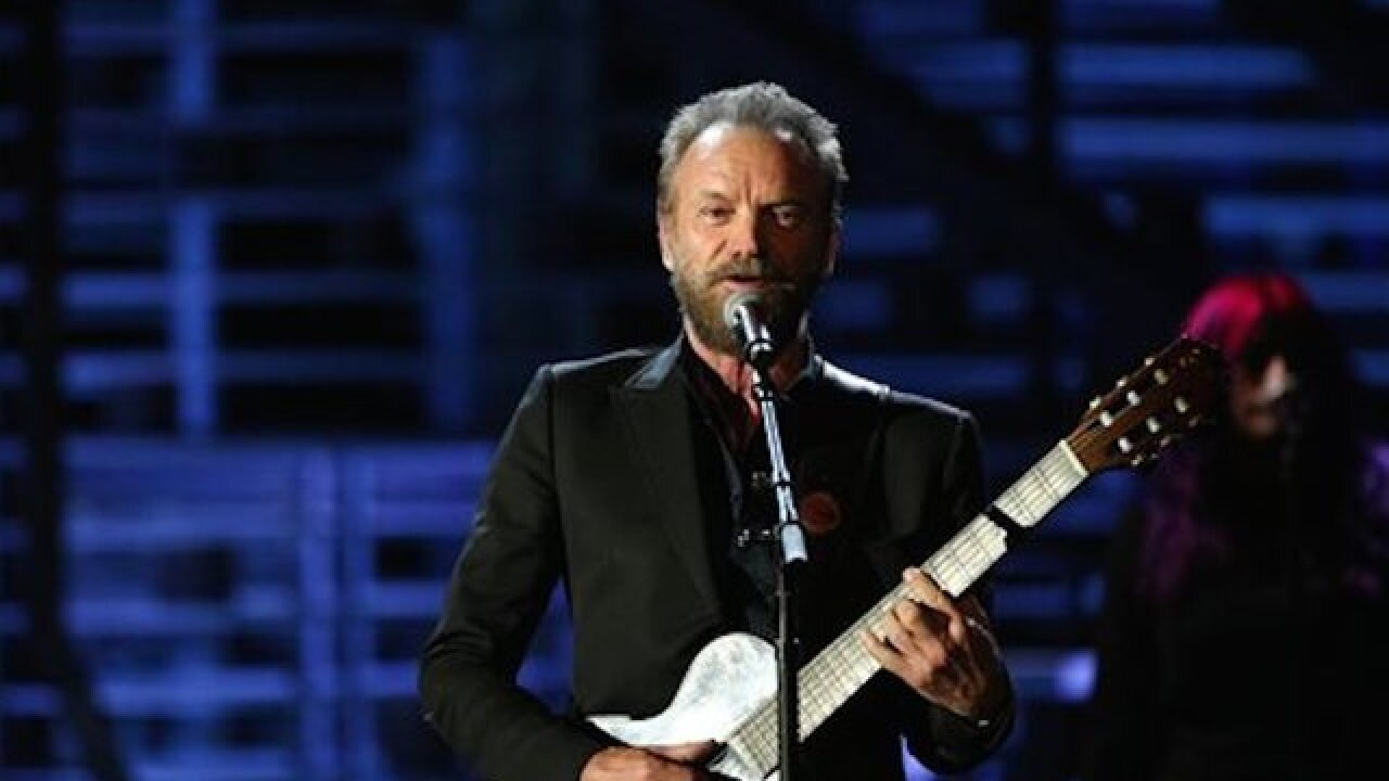 Sting to perform at NBA All-Star Game