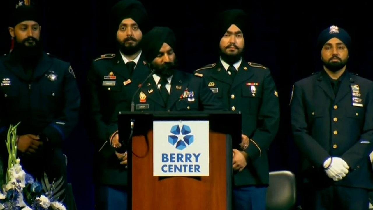 Thousands attend Sikh deputy's funeral outside Houston