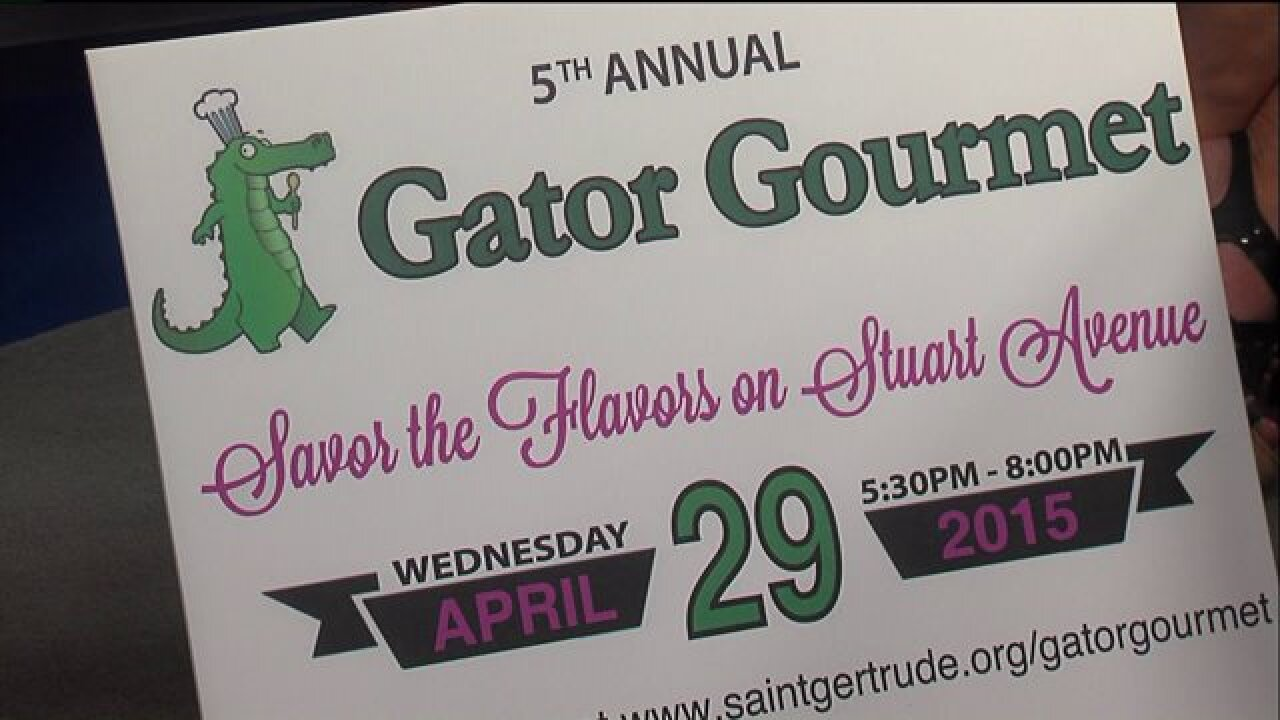 Savor the flavor of Saint Gertrude's 5th Annual Gator Gourmet event