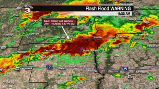 Flash Flood Warning issued for portions of Acadiana