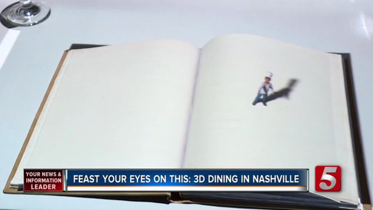 3D Dining Experience Comes To Nashville