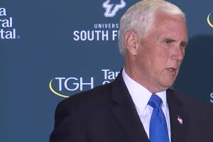 VP Mike Pence: We are in a much better place to confront the rising cases impacting Florida, rest of U.S.