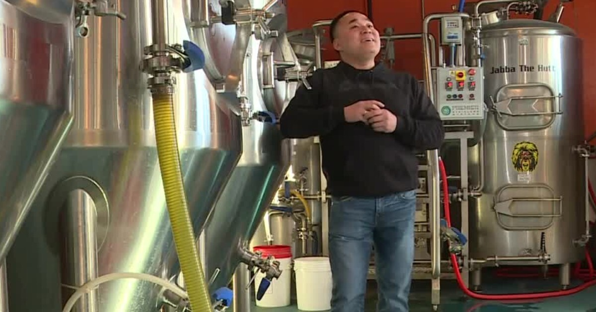 The Answer Brewpub's founder and 'Chief Beer Officer' calls success 'a blessing'