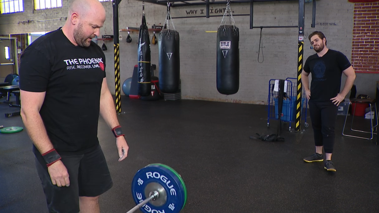 Phoenix gyms help members overcome addictions
