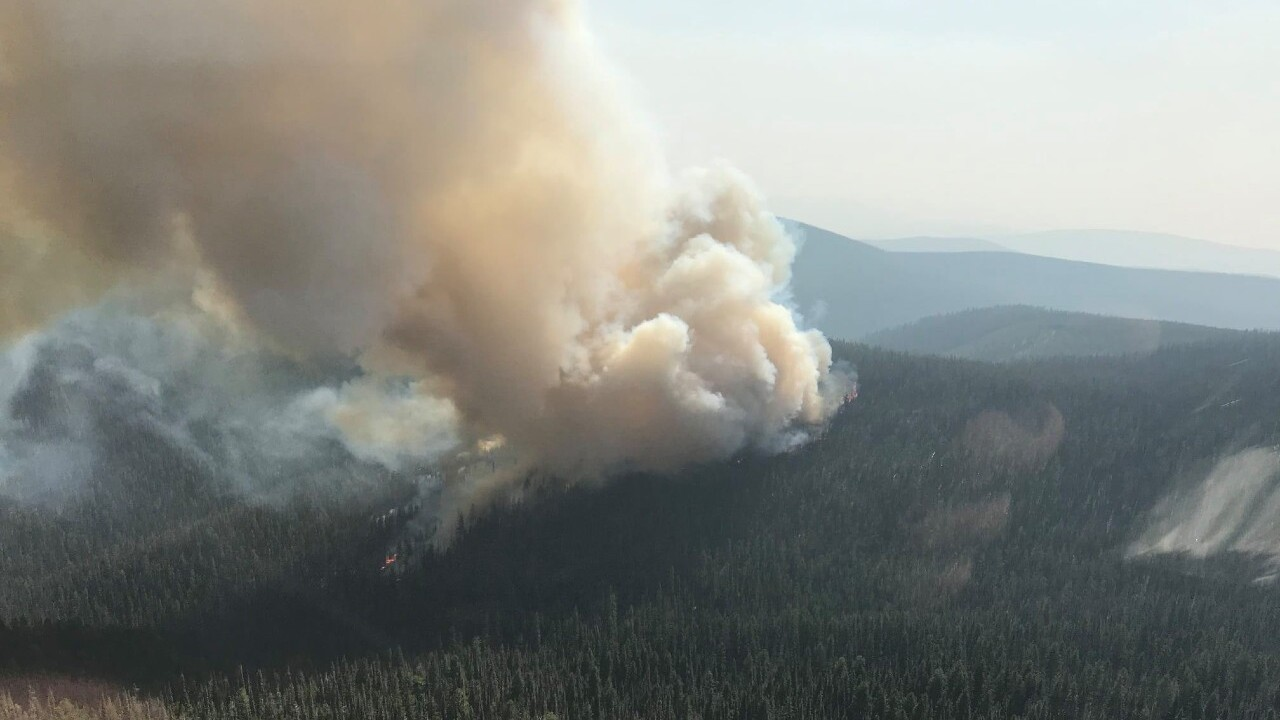 Cinnabar Fire now at 2,000 acres