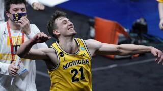Franz Wagner NCAA LSU Michigan Basketball
