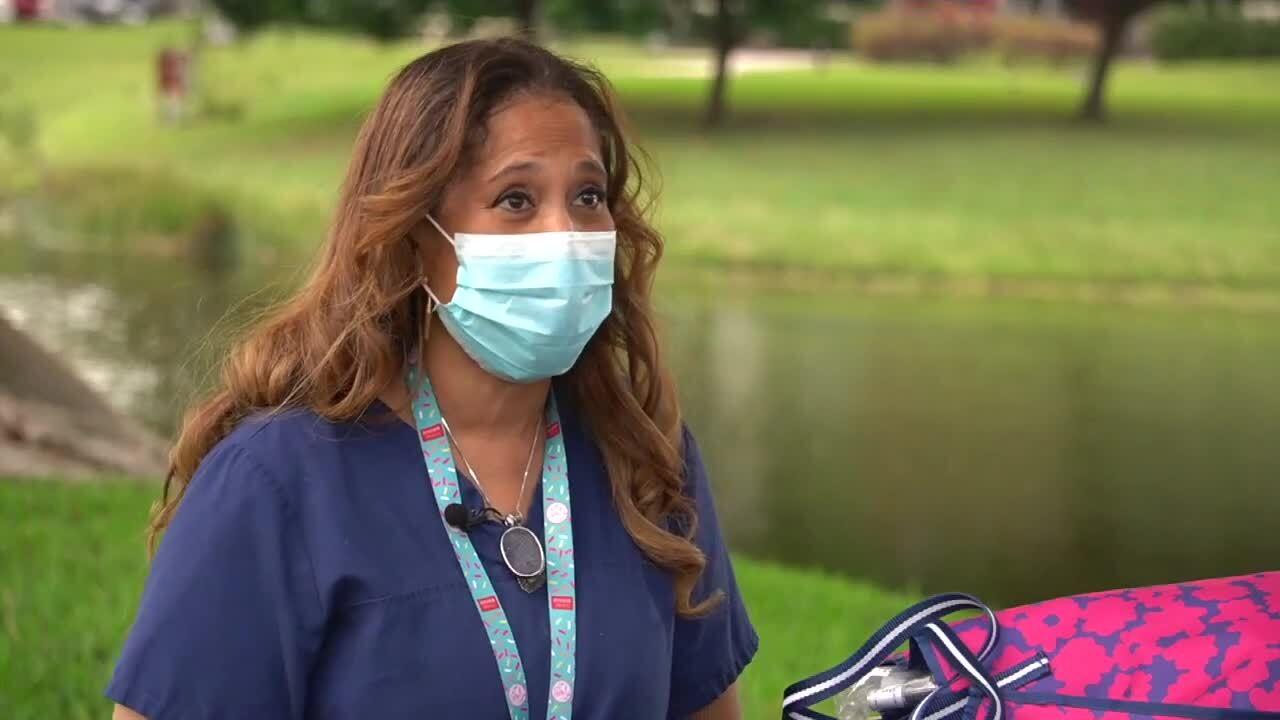 Jan Henry-Blanton, ICU nurse at West Boca Medical Center