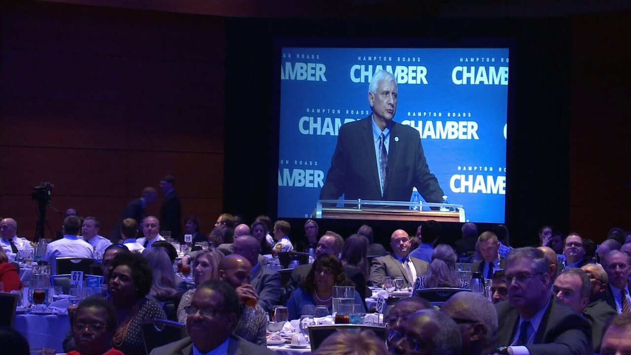 Virginia Beach Mayor Bobby Dyer stresses inclusion, positivity during State of Cityaddress