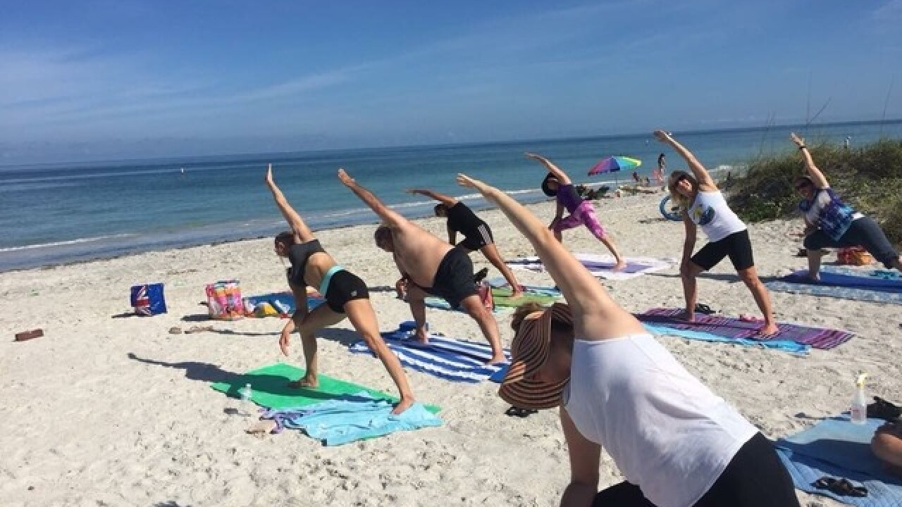Battle brews over yoga on Indian Rocks Beach