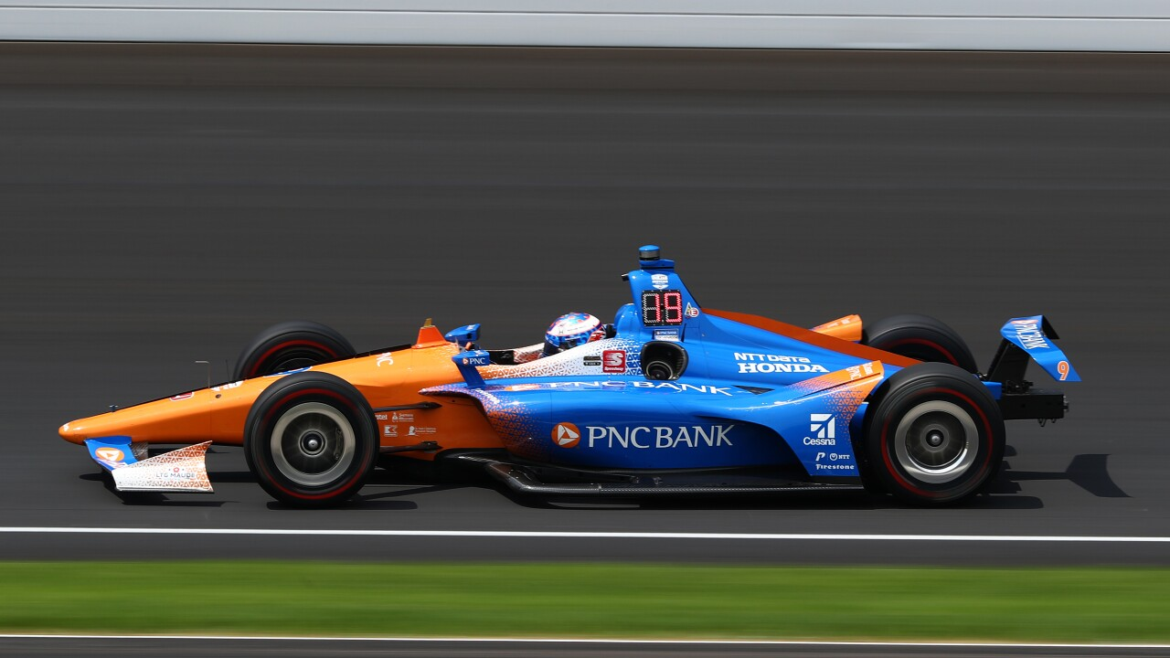Scott_Dixon_103rd Indianapolis 500 - Carb Day