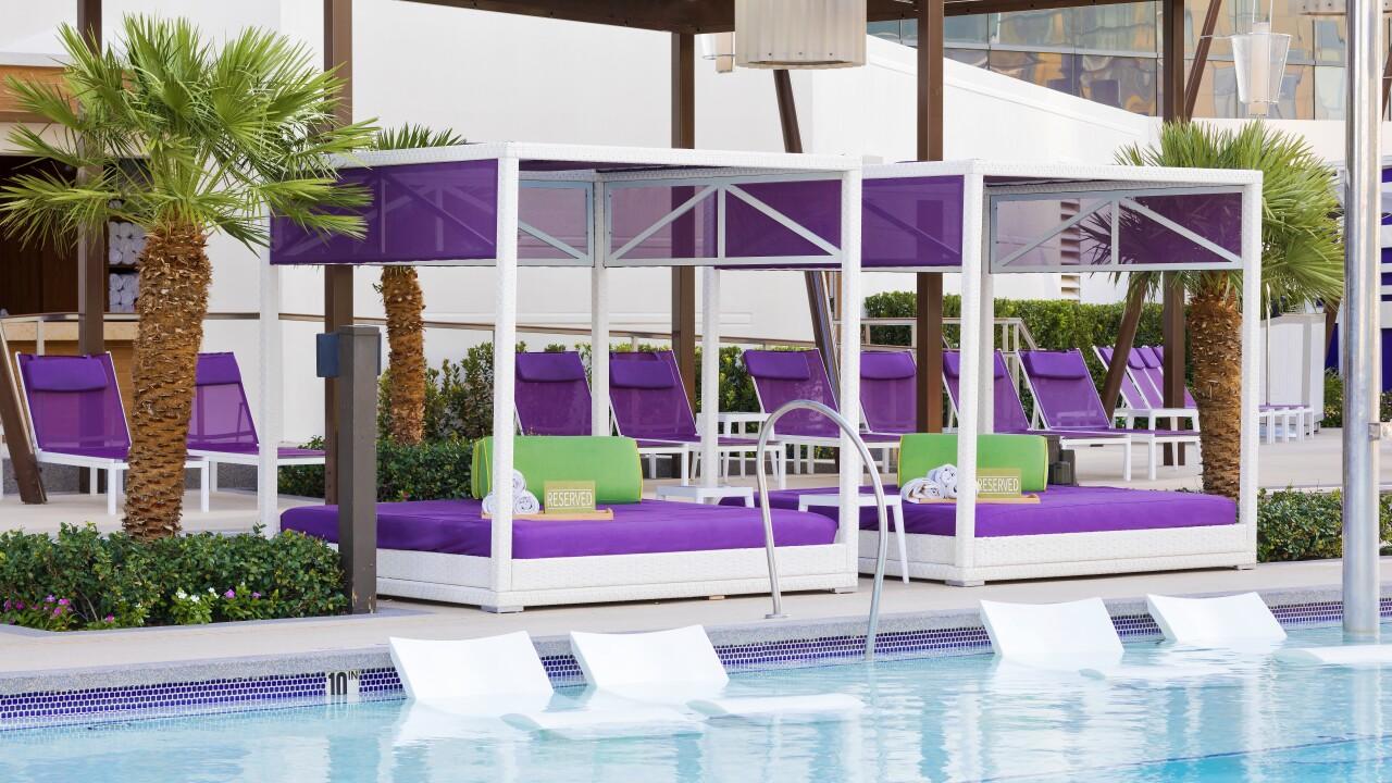 Cabanas & Pool