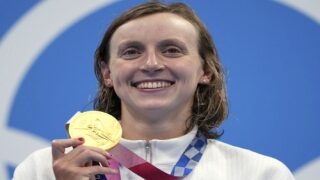 Katie Ledecky Makes History, Wins First-Ever Gold In 1500m Freestyle Swim