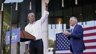 Barack Obama, Terry McAuliffe