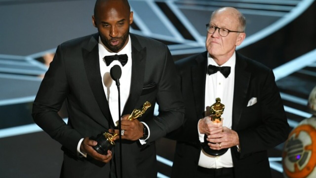Kobe Bryant wins Oscar at the Academy Awards
