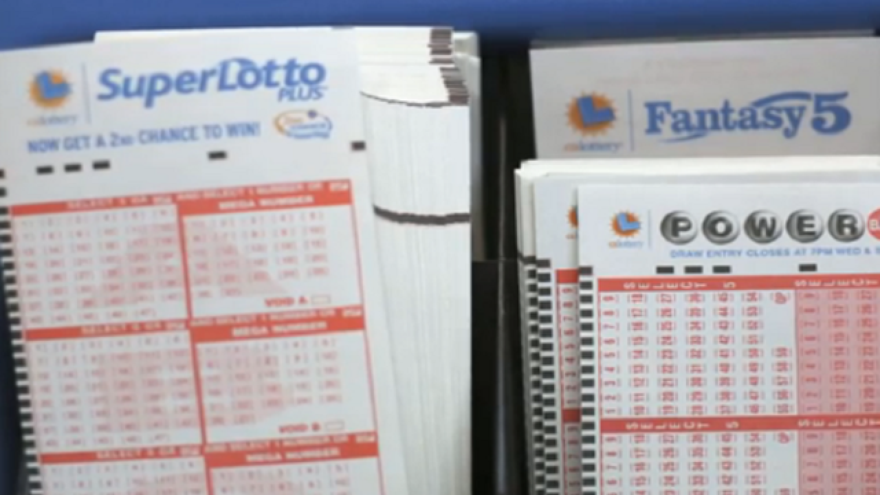 Calif. man wins lottery twice within minutes