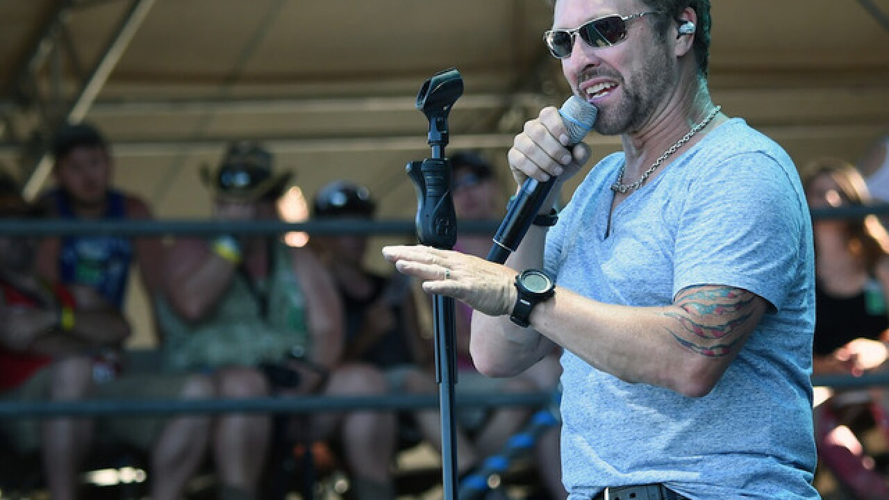 Country star's son missing after boat accident