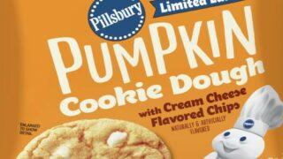 Pillsbury's Seasonal Pumpkin Cookie Dough Flavor Is Now Safe To Eat Raw