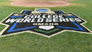 College World Series grass logo