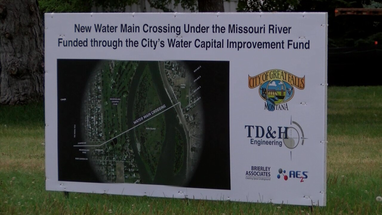 Construction work continues on southwest side of Great Falls