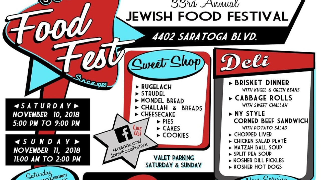 Jewish Food Festival to feature food, family entertainment